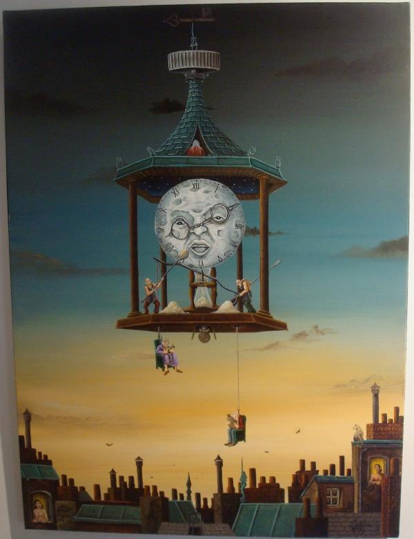 Jean Delêtre - Le marchand de sable - 2002 - Musée d'Art Moderne et Contemporain de Cordes