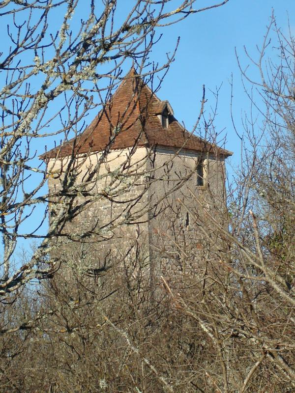 A la tour de Nougayrac, j'ai pris garde