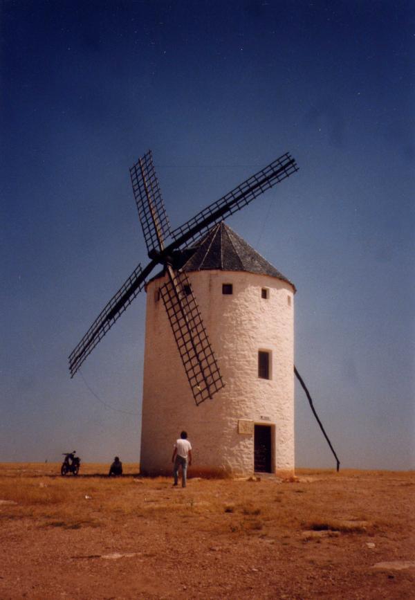 Moulin de la Mancha - Espagne