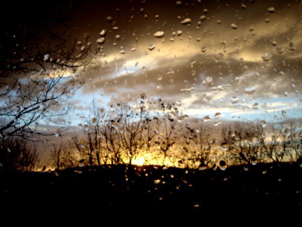 Le ciel en larmes II