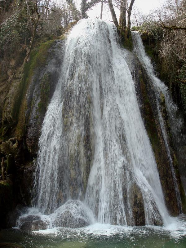 Cascade pétrifiante de Saint Pierre-Livron (82)