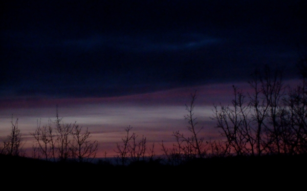 Crépuscule du 7 mars 2020