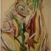 Pôl Roux - Couple dans le jardin, II - 1999 Musée d'Art Moderne et Contemporain de Cordes