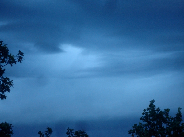 Ciel d'orage du 15 juin 2016