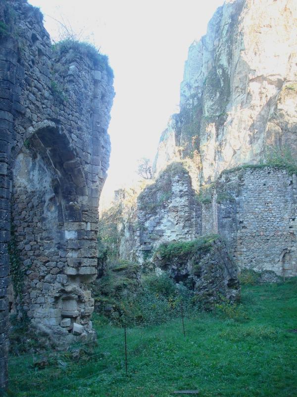 Ancienne église Notre-Dame-de-Laval à Peyrusse-le-Roc - XIIIe s.