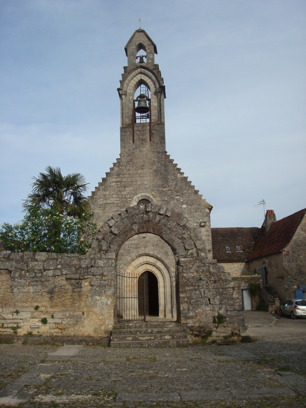 Rocamadour - La chapelle Saint-Jean-Baptiste