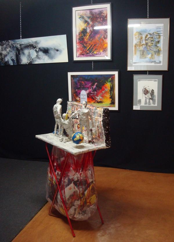 Exposition Indignation à la Grange aux Calèches - Limoges - Octobre 2012