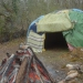 Sweat lodge de tradition cheyenne