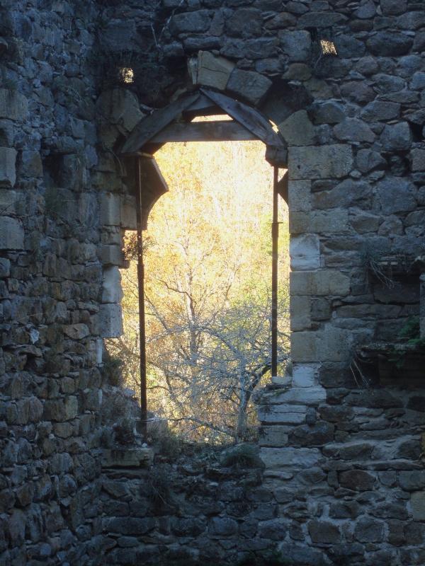 Peyrusse le Roc - Les ruines de l'Hôpital médiéval dit des Anglais
