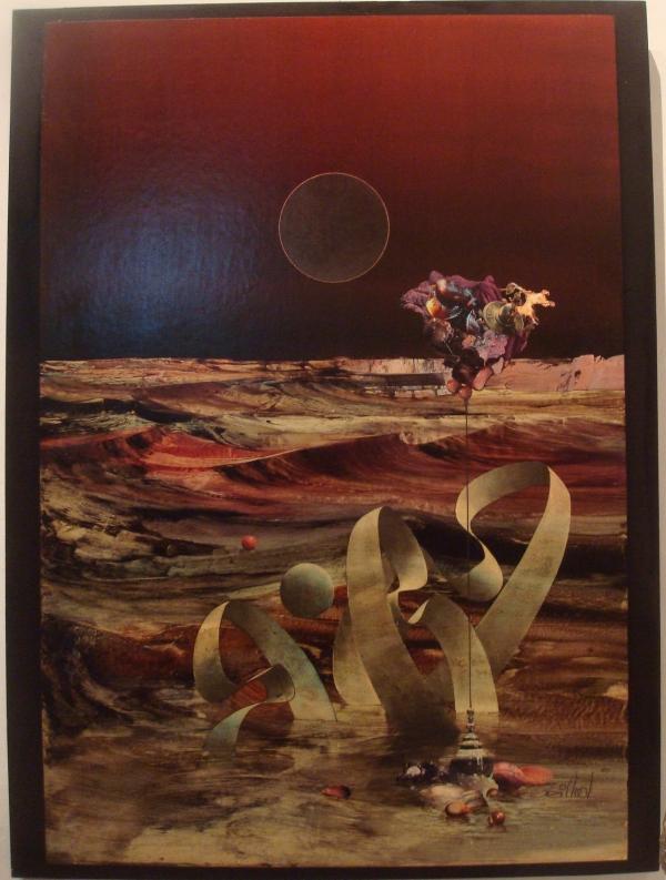 Cailhol - Orion ou la mer rouge - 1990