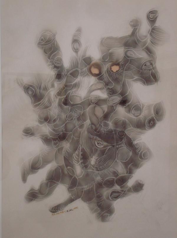 Francis Meunier - Sans titre 1976 - Musée d'Art Moderne et Contemporain de Cordes