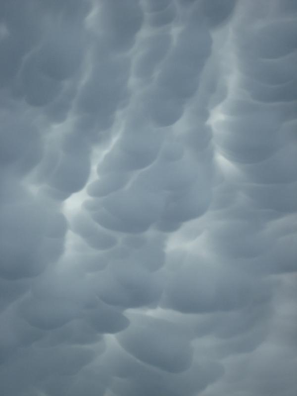Ciel étrange d'orage