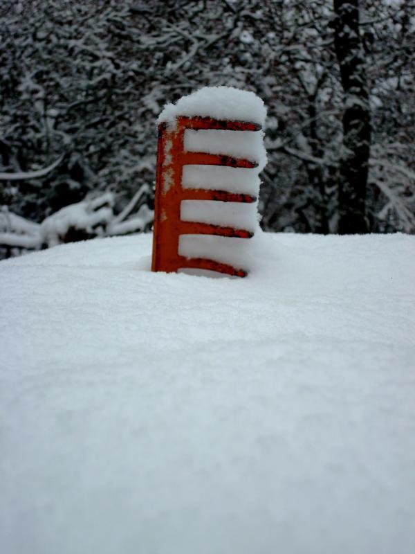 Râteau des neiges