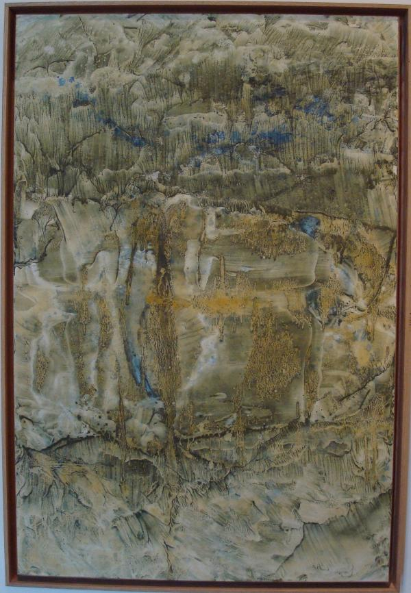 """Hong Insook - Abbaye de Beaulieu - """" 2011 : Un Souffle venu d'Asie. Orient-Occident. Regards croisés."""""""