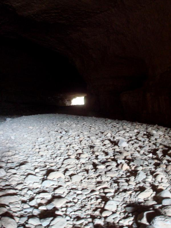 Minerve, sous le pont naturel