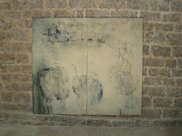 """Abbaye de Beaulieu en Rouergue - Exposition Philippe Ringlet """"Du chaos à l'unité"""" - 2017"""