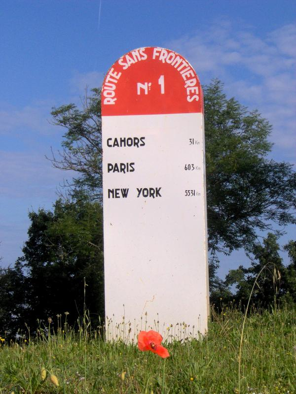 St Cirq-Lapopie - Route Mondiale n°1