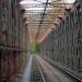 Ancien pont de chemins de fer au-dessus du Lot - Vers