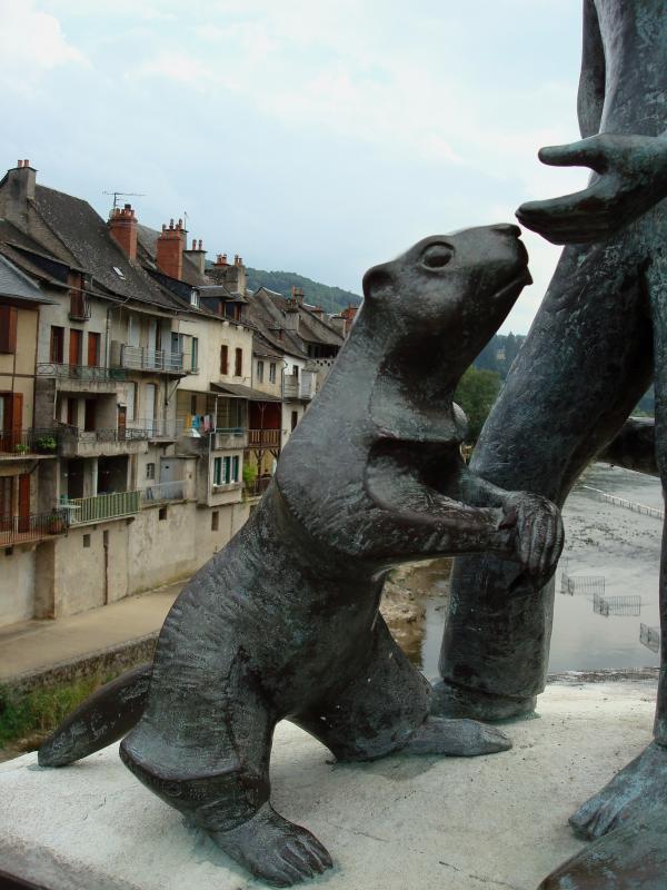 La marmotte qui a sauvé les marmots de St Geniez d'Olt