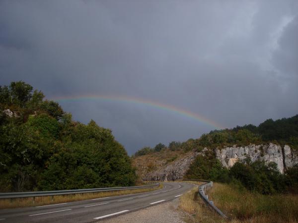 Route de Cahors, jeudi 9 septembre 2010