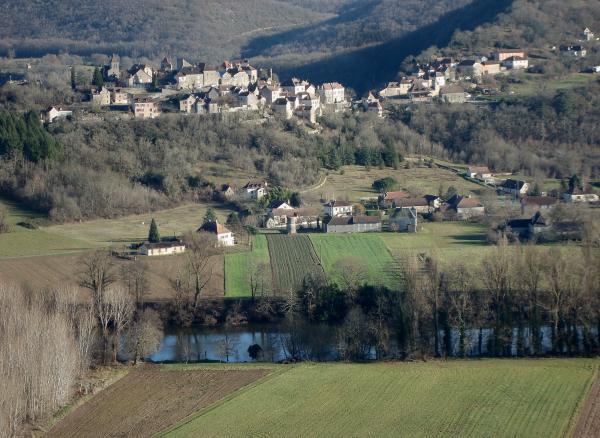 Vallée du Lot - Calvignac