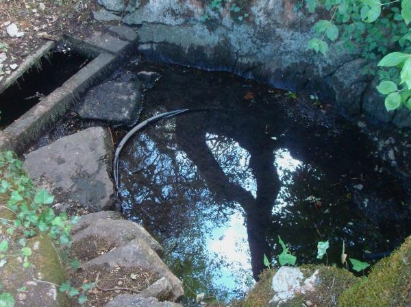 Source de Grandfont près de Lugagnac