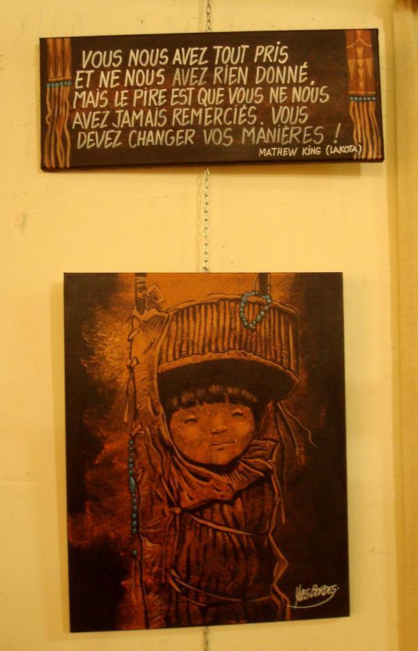 Yves Bordes - Exposition Indignation à la Grange aux Calèches - Limoges