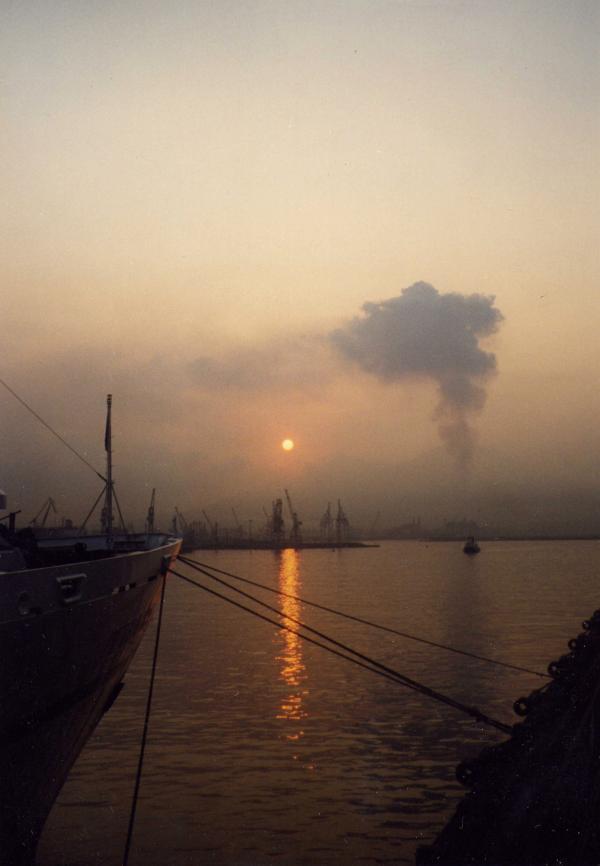 Port de Naples -Italie