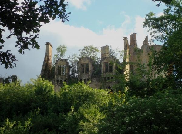 Le château du Paluel - Saint-Vincent-le-Paluel