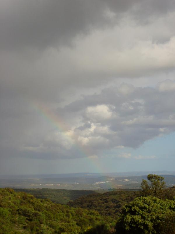 Arc-en-ciel sur le Haut-Languedoc