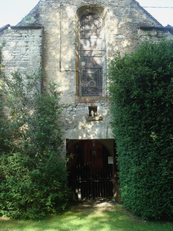 L'église Notre-Dame du Dégagnazès