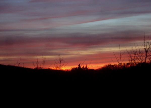 Ciel de février