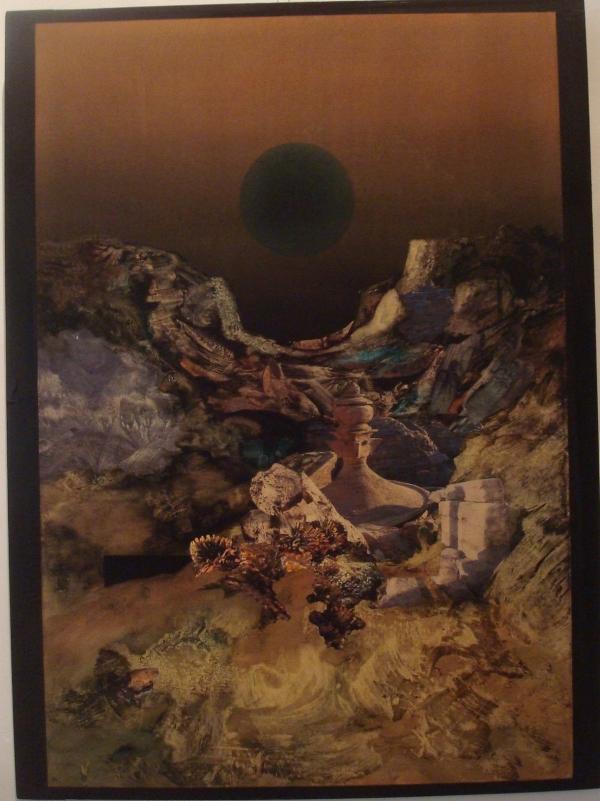 Cailhol - Petra archéo - 1987  - exposition à l'Abbaye de Beaulieu - 1987