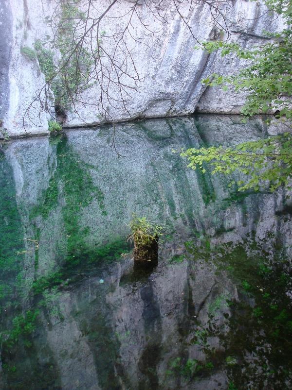 Source en amont de St Géry