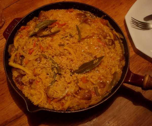 Risotto figues safran