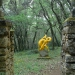 Sculpture de Bernard Decottignies - Jardins de Cadiot - Carlux