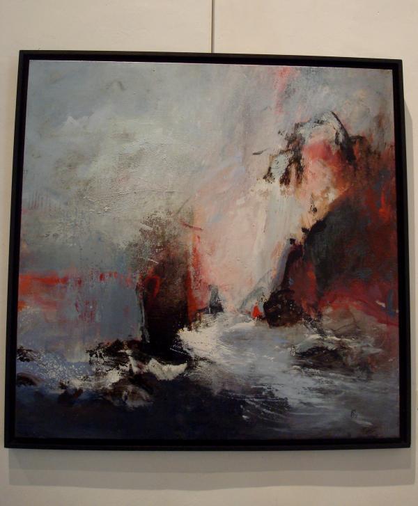 """Anne Pourny - Abbaye de Beaulieu - """" 2011 : Un Souffle venu d'Asie. Orient-Occident. Regards croisés."""""""