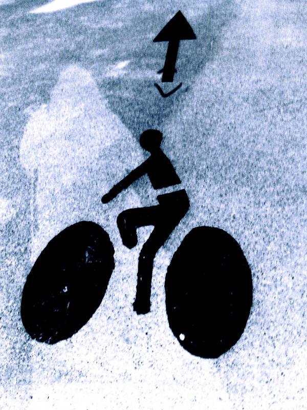Pas sage à vélo