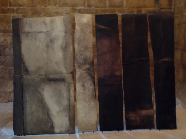 """Abbaye de Beaulieu en Rouergue - Expo 2011 -Jacques Fettah """"Quitter les brumes»"""