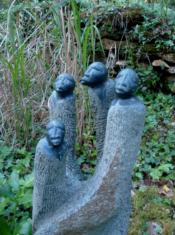 Artistes du Zimbabwe - Jardins de Cadiot - Carlux