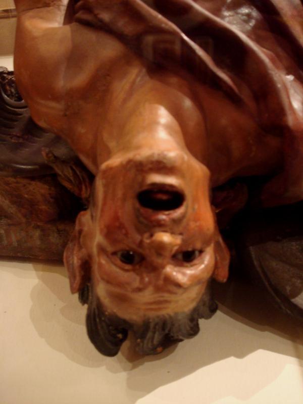 Musée Goya : un damné