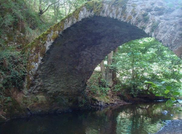 Pont romain - Gorges de Courgoul - Puy de Dôme
