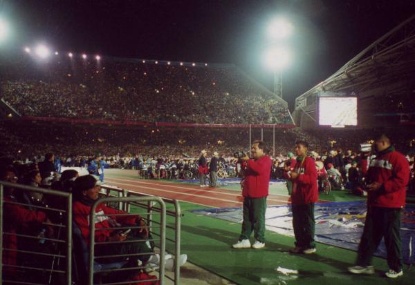 Cérémonie d'ouverture des Jeux Paralympiques 2000 - Sydney - Australie