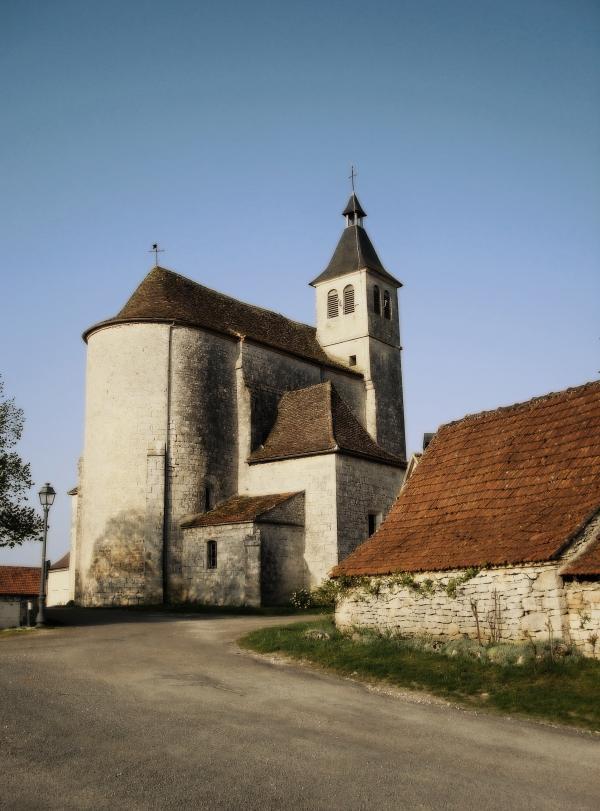 Eglise de Lunegarde (Lot)