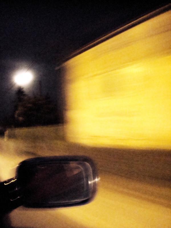 Pleine lune on ze road