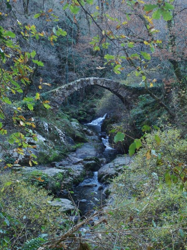 Vallée de l'Audierne - Pont du Parayre - XIIe s.