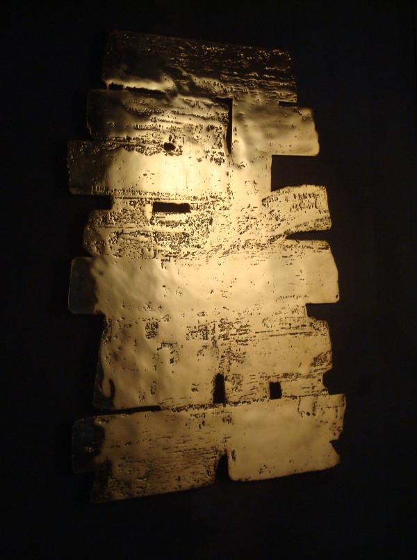 Pierre Soulages - Eau-forte (matrice) - Musée Soulages - Rodez