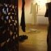 Installation pour l'expo interactive Le chasseur de gravité avec les artistes de la compagnie de danse coda norma - Musée de Cordes