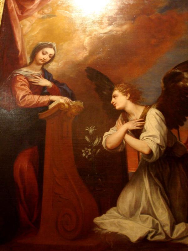 Musée Goya : Alonso Cano - L'Annonciation (1655-1657)