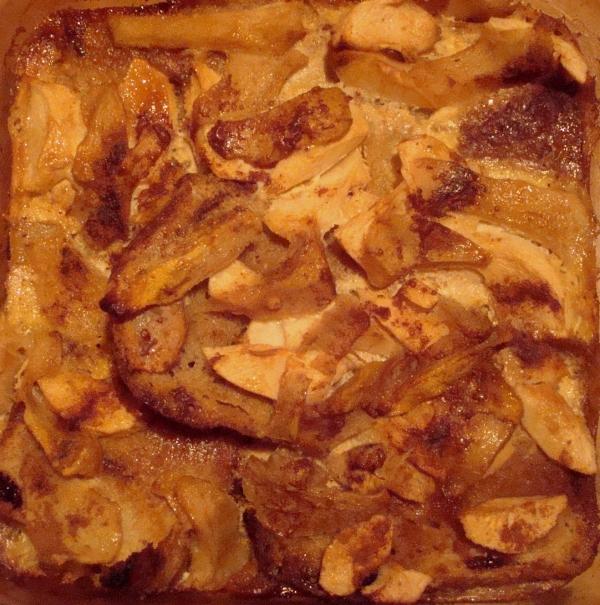 Gâteau de pain aux fruits